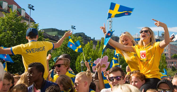 Sveriges VM-låtar sedan 1958