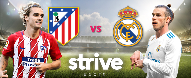 Gratis streaming: Atlético Madrid – Real Madrid