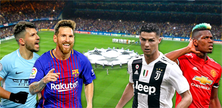 Upplev Champions League på plats