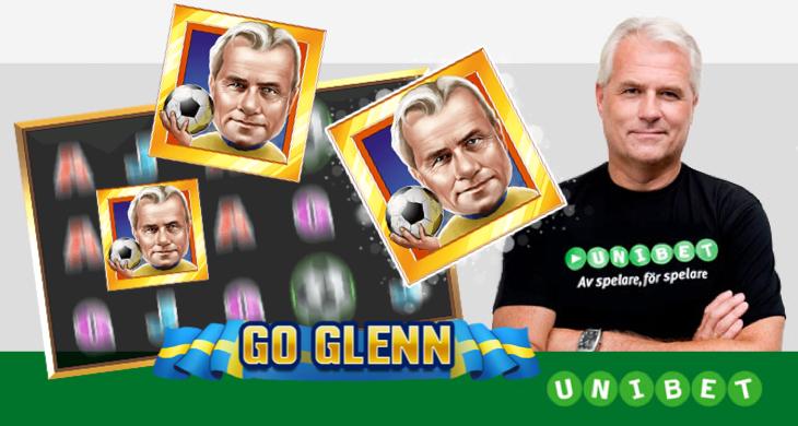 Go Glenn – Glenn Hyséns egna spel på Unibet