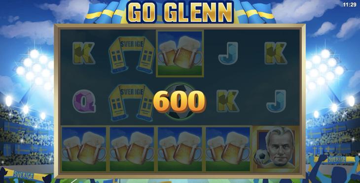 go glenn 600 kr vinst