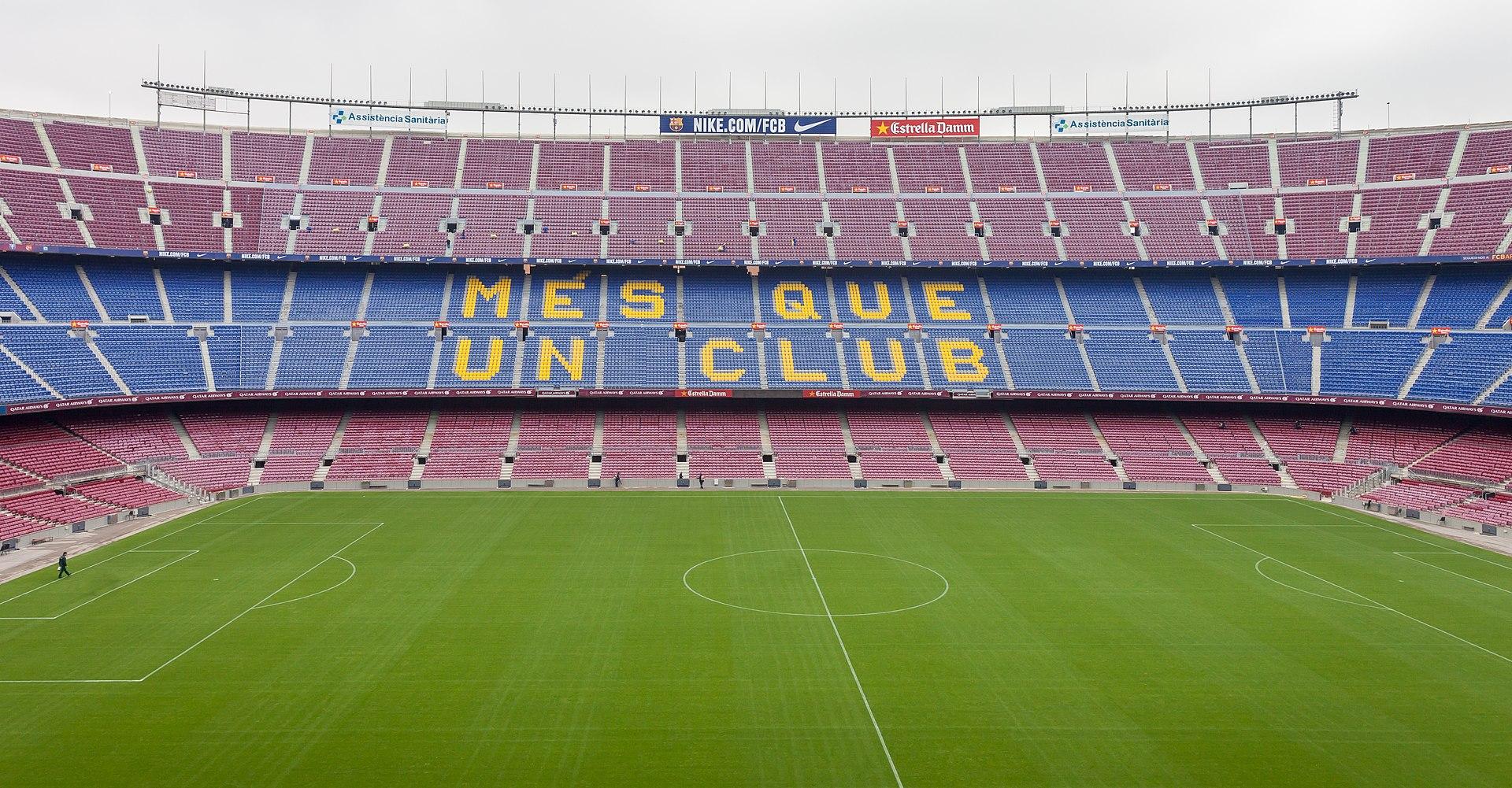 Tungviktsmöte på Camp Nou i CL-semi nr 2