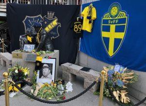 Hyllning till Lennart Johansson