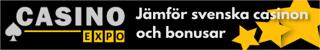 Casinoexpo.se jämför bonusar och free spins i alla online casino med svensk licens