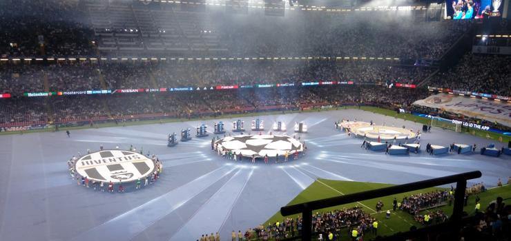 Laddad åttondelsfinal i Champions League