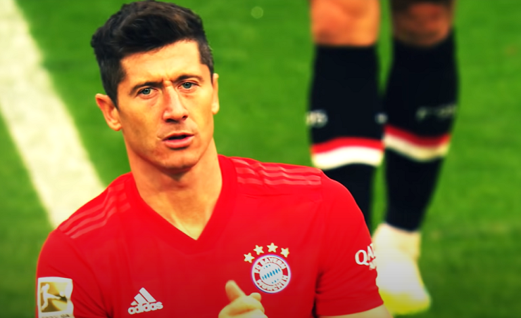 Lewandowski tar Bayern till Champions League-final