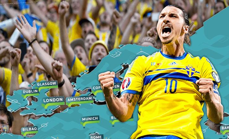 EM kan planeras om och Zlatan är aktuell