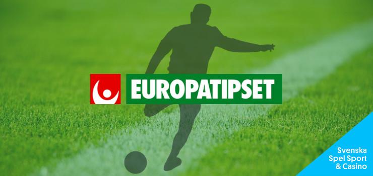 TIPS: Europatipset 5/5 med 4 miljoner i jackpott