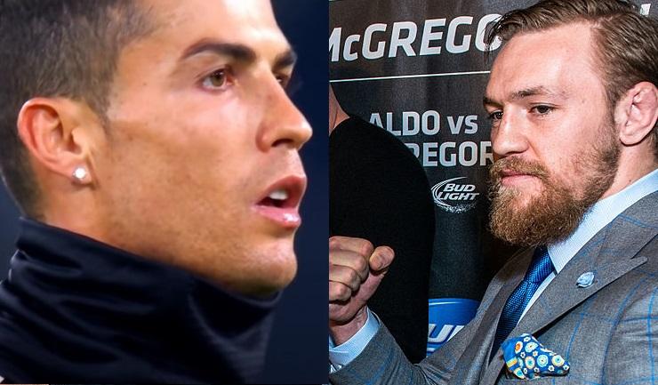 Conor McGregor har infriat löftet till Cristiano Ronaldo