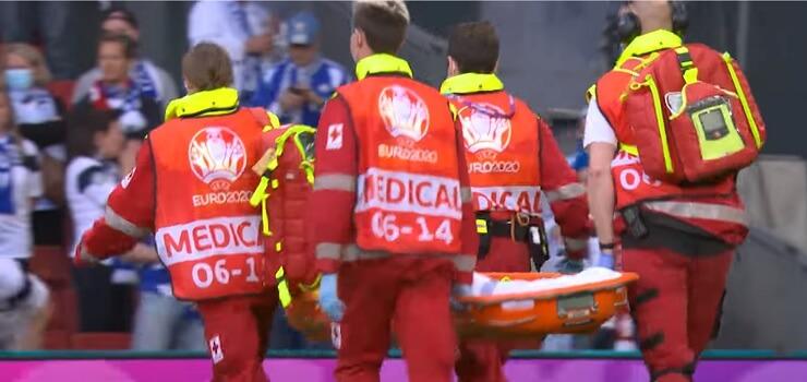 Hjärt- och lungräddning räddade Christian Eriksen